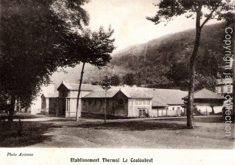 Etablissement thermal Le Couloubret