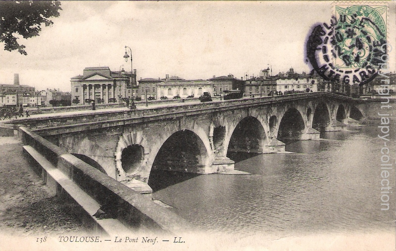 138 Toulouse- Le Pont Neuf-  LL.